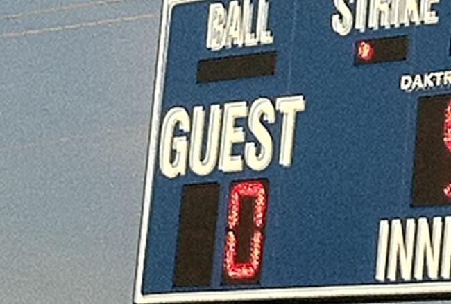 score-board