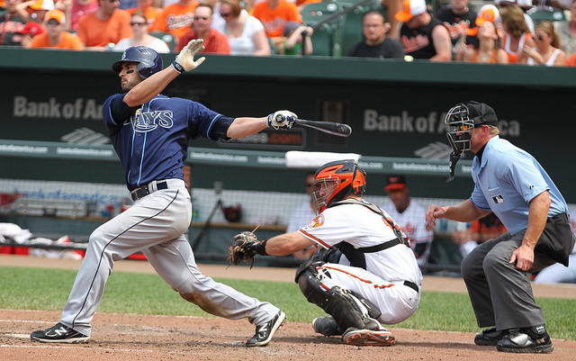 Tampa Bay Rays OF Justin Ruggiano (16)
